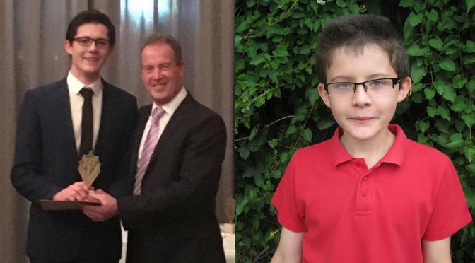 Former Pupil Wins Top High School Award!