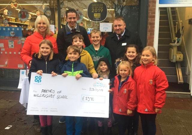 FOWS raises over £5300 through Co-op!