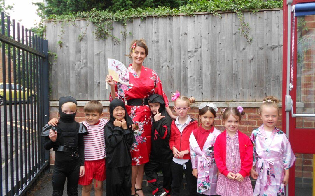 Japan Week at Willoughby School!